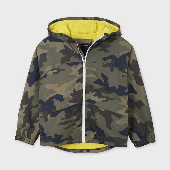 Print windbreaker for older boy   (mayoral)