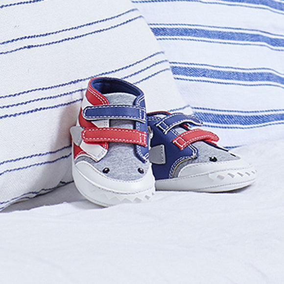 two tone trainers for new born boy (mayoral)