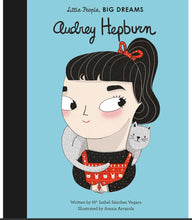 Audrey Hepburn - Little People, Big Dreams Hardcover book 32 p.