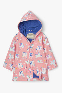 Magical Pegasus Colour Changing Raincoat  (Hatley)