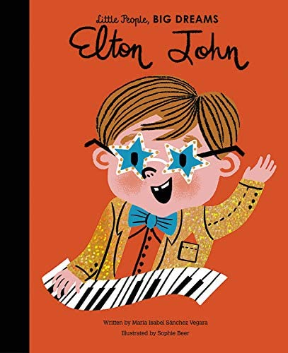 Elton John Hardback book, Little People - big dreams