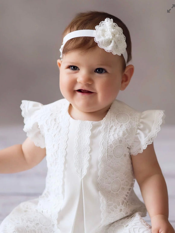 Christening dress gown occasion wear