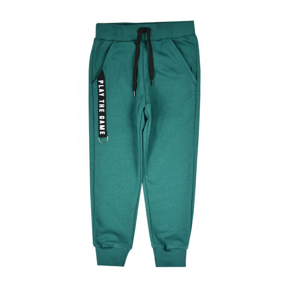 Thin Boys' Sweatpants, Green