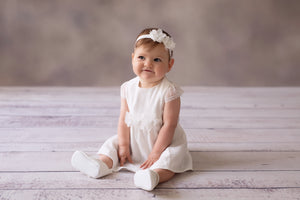 Christening Dress Gown Michalina Occacion wear Cream
