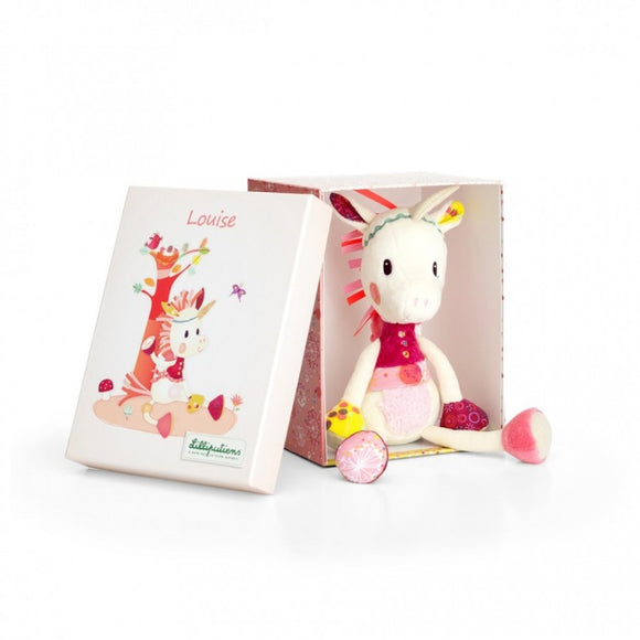 Louise cuddly unicorn box