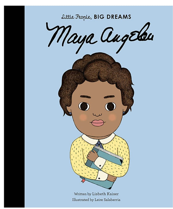 Maya Angelou (Little People, Big Dreams) hardback book 32p.