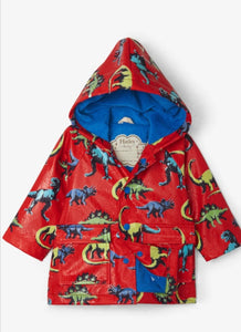 Painted Dinos Colour Changing Baby Raincoat