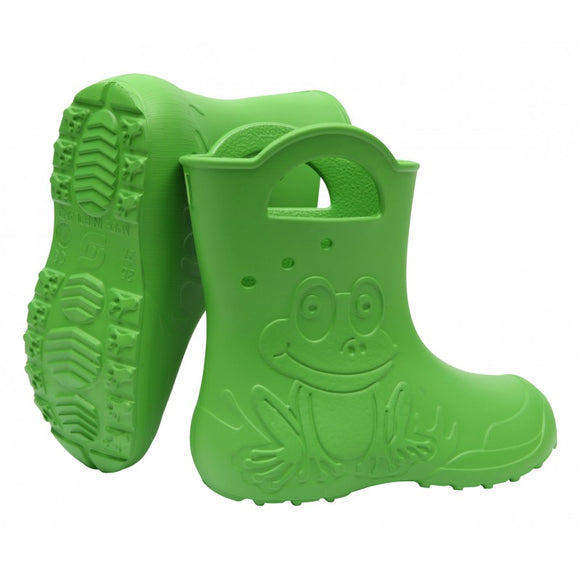 Lightweight Rainboots Wellies Frog Green