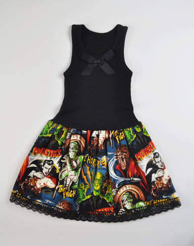 Classic Monster Tank Dress