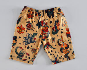 Tattoo Flash Chino Short