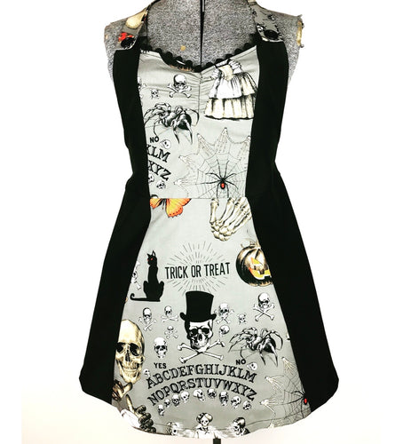 Gray Ouija Kreepy Kitchen Womans Apron