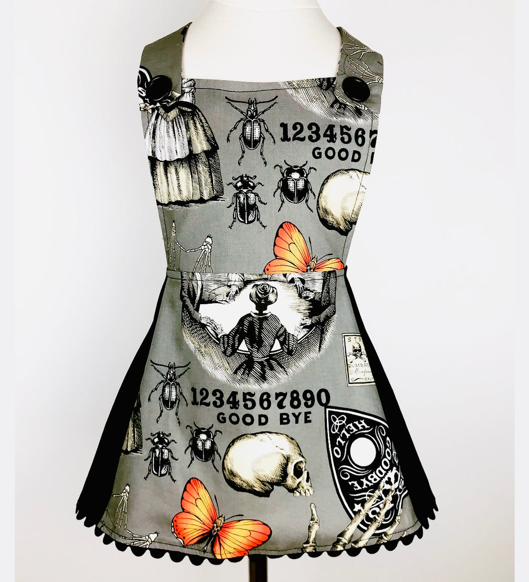 Gray Ouija Kreepy Kids Apron