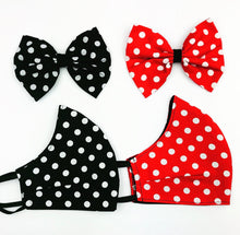Poko Dot Mask/ Bow Set