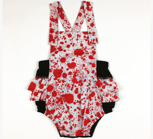 Zombie Blood Spattered Romper