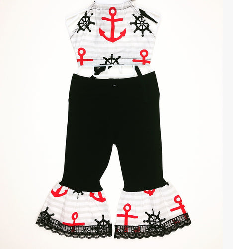 Sweet Sailor Bratz Bottoms and Haulter Set