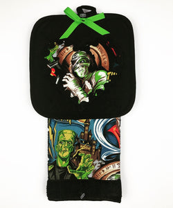 Monster Kitchen Towel Set