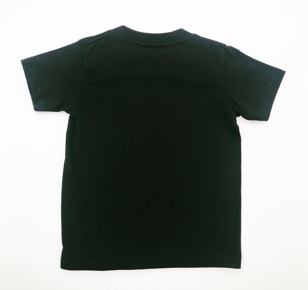 Black Cotton Rock T-Shirt