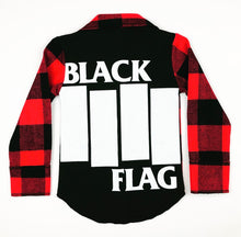 Red/Black Plaid Rock Flannel