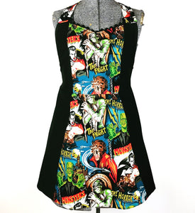 Monster Kreepy Kitchen Womans Apron