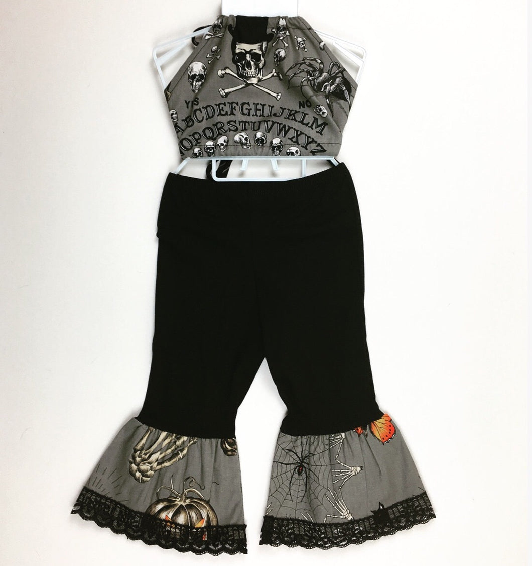 Ouija Gray Bratz Bottoms and Haulter Set