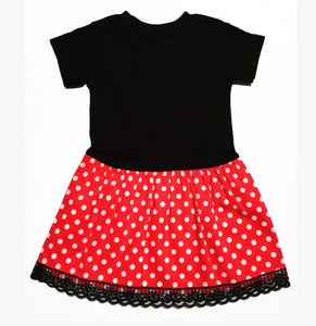 Punk Doll Dress Red Poko