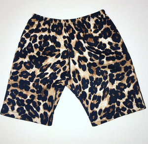 Leopard Cheetah Chinos Shorts