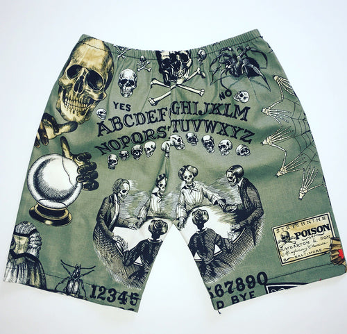 Ouija Gray Chino Shorts