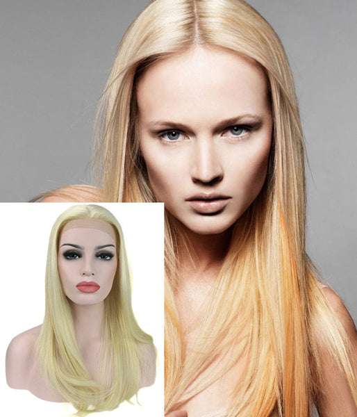 "18"" Top Quality Virgin Remy Human Hair Semi-finished Full Lace Wig - Hair Triss"