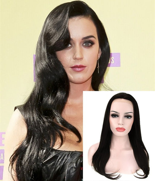 "18"" Best Quality Virgin Human Hair Semi-finished Full Lace Wig - Hair Triss"