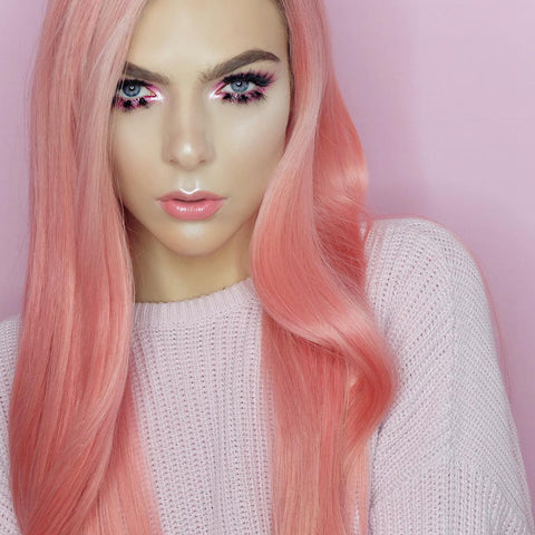 Pink Lemonade - Remy Human Hair Lace Wig - Hair Triss