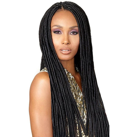 "Bobbi Boss Crochet Braid Faux Locs Bomba Dread 20"" - Hair Triss"