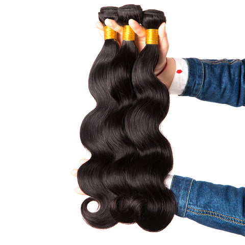 Peruvian Virgin Hair Weave Bundle - Hair Triss
