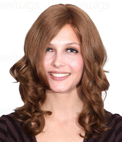 Glaze Remy Human Hair Lace Front/Mono Glueless Wig - Hair Triss