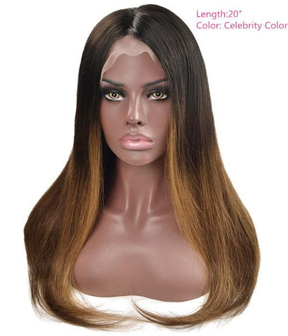 Caramel - Remy Human Hair Lace Wig - Hair Triss