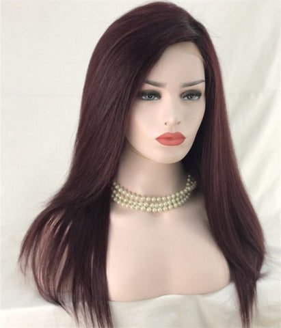 Connie - Ombre Burgundy Full Lace Wig - Hair Triss