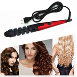 360 Degree Rotation Hair Curling Iron - Hair Triss
