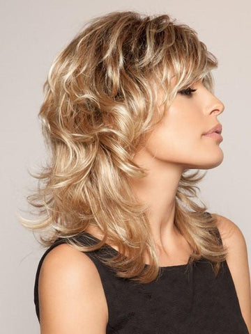 Tress Wavy Blonde Curly Wig - Hair Triss