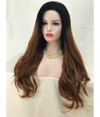 Sweety Futura Synthetic Lace Front Wig - Hot Mocha Latte - Hair Triss