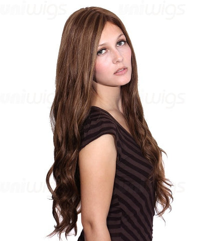 Veronica Remy Human Hair Lace Front/Mono Glueless Wig - Hair Triss