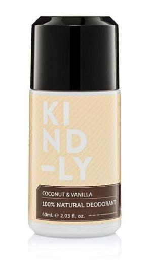 Kind-ly Coconut & Vanilla 100% Natural Deodorant (60ml)