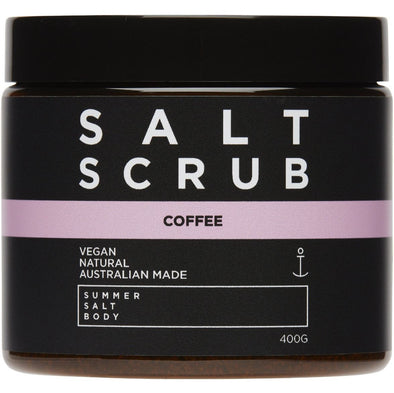 Summer Salt Body Coffee Salt Scrub (400g)