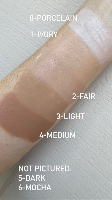 Mirabella Invincible Anti-Aging HD Foundation Single-Shade Samples