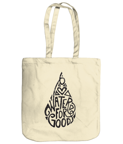 Water for Good - Organic Tote Bag, WoodYou, WoodYou - WoodYou