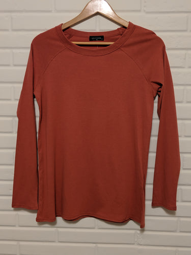 Rust Colored Long Sleeve