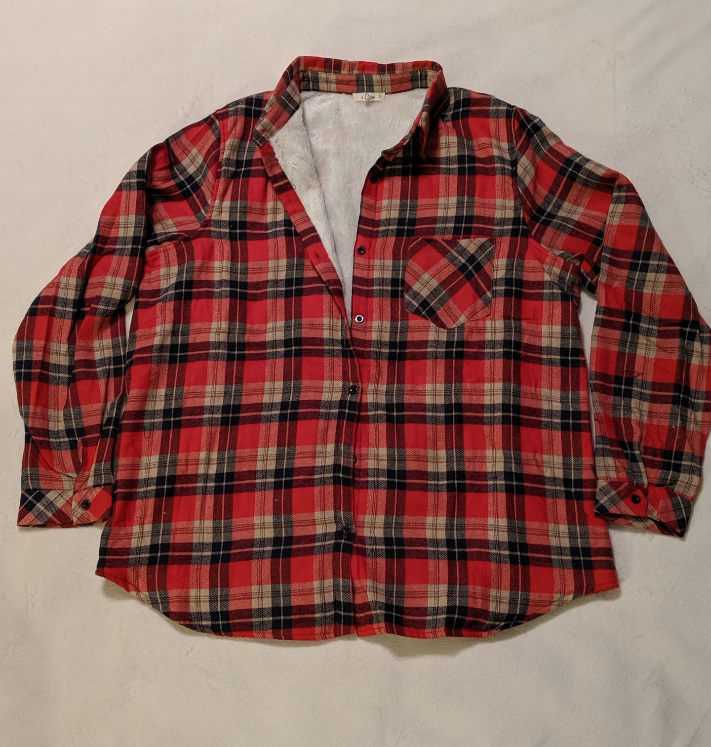 Checker Plaid Fleece