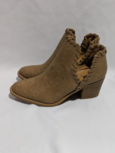 Taupe Cut Out Bootie