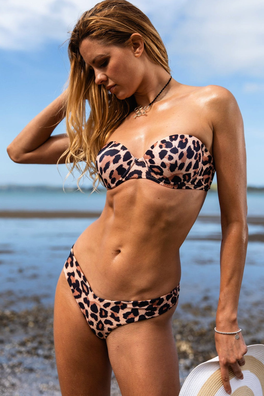 Leopard strapless | Evocative