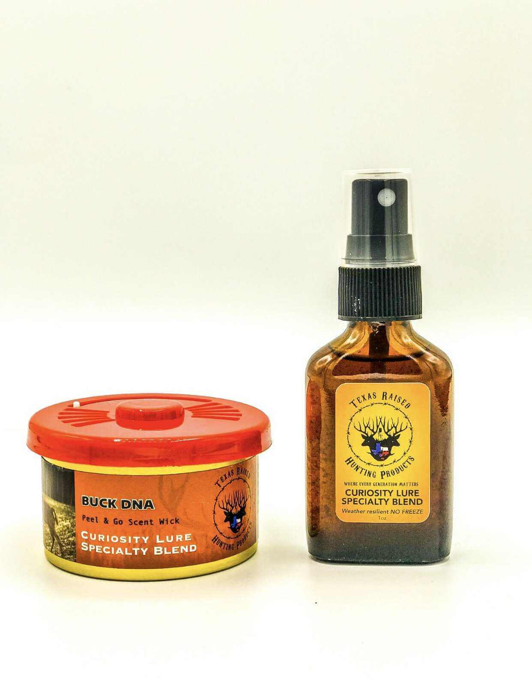 Curiosity Scent & Wick Can With (Wick Refresher) - Texas Raised Hunting Products