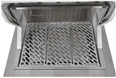 "Image of Coyote 28"" Built-In Pellet Grill - C1P28 - JwGrills"