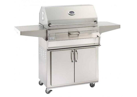 Fire Magic Charcoal Portable Grill with Smoker Hood (24 x 18) - 22-SC01C-61 - JwGrills